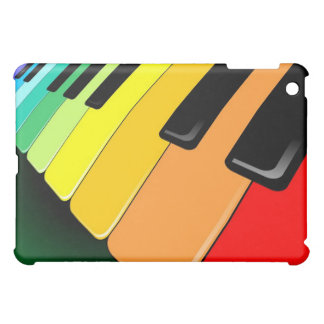 Keyboard Music Party Colors Cover For The iPad Mini