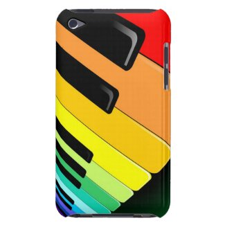 Keyboard Music Party Colors iPod Touch Cases