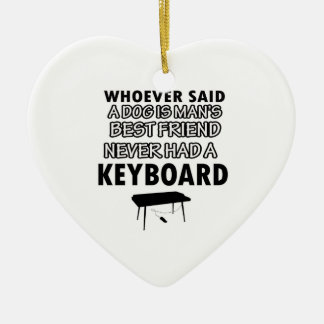 keyboard musical instrument ceramic ornament