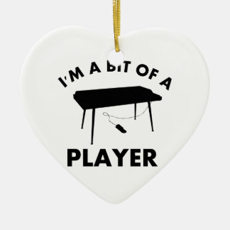 keyboard musical instrument designs ceramic ornament