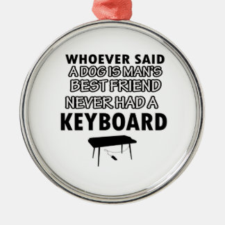 keyboard musical instrument christmas ornament