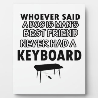keyboard musical instrument plaques