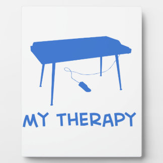 Keyboard my therapy photo plaque