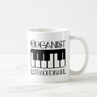 Keyboard Organist Extraordinaire Coffee Mugs