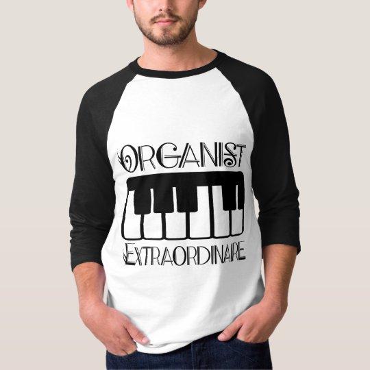 Keyboard Organist Extraordinaire T-Shirt