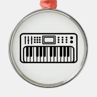 Keyboard piano Instrument Christmas Tree Ornament