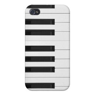 Keyboard / Piano Keys: iPhone 4/4S Cases