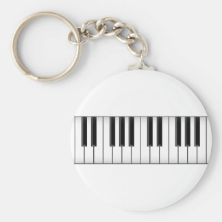 Keyboard / Piano Keys: Keychain