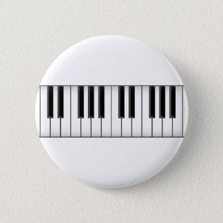 Keyboard / Piano Keys: Pinback Button