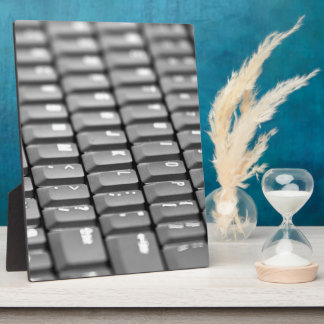 Keyboard Photo Plaque