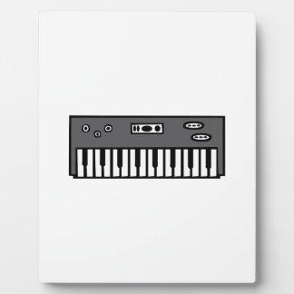 Keyboard Plaque