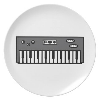 Keyboard Party Plate