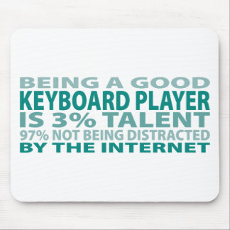 Keyboard Player 3 Talent Mouse Pad