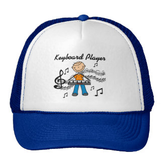 Keyboard Player Hat