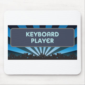 Keyboard Player Marquee Mouse Pads
