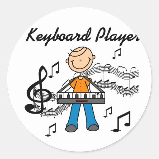 Keyboard Player Stickers Sticker