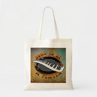Keyboard Player Tote Bag
