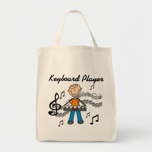 Keyboard Player Tshirts and Gifts Bags