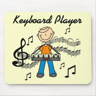 Keyboard Player Tshirts and Gifts Mouse Pads