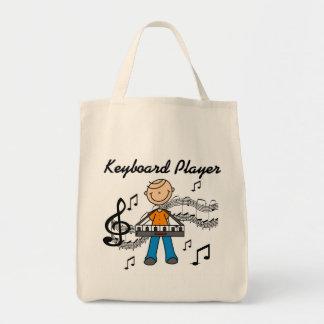 Keyboard Player Tshirts and Gifts Tote Bag