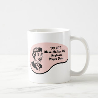 Keyboard Player Voice Coffee Mug