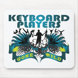 Keyboard Players Gone Wild Mouse Pad