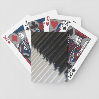 Keyboard Playing Cards
