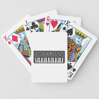 Keyboard Playing Cards