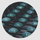 keyboard round stickers
