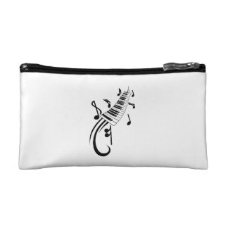 keyboard scroll and notes black.png cosmetics bags
