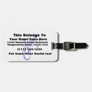 keyboard scroll and notes blue.png bag tag