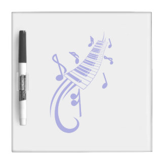 keyboard scroll and notes blue.png Dry-Erase boards