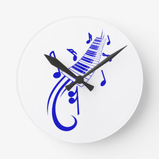 keyboard scroll and notes blue.png round clock