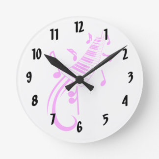 keyboard scroll and notes pink.png round clock