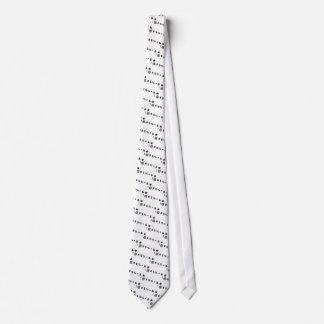Keyboard Snowflakes (dirty snow) Tie