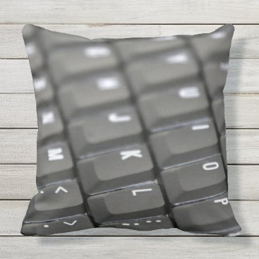 Professional Business Keyboard Throw Pillow
