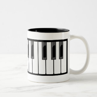 Keyboard Two-Tone Coffee Mug