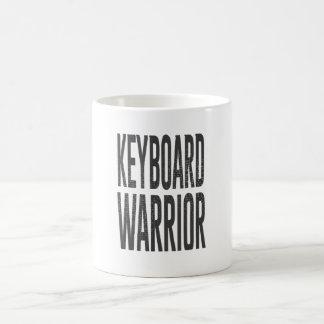 Keyboard warrior coffee mug