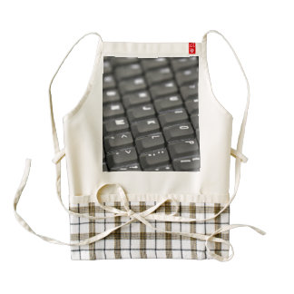 Keyboard Zazzle HEART Apron