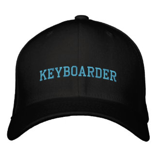keyboarder Embroidered Hat