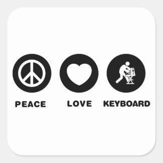 Keyboardist Sticker