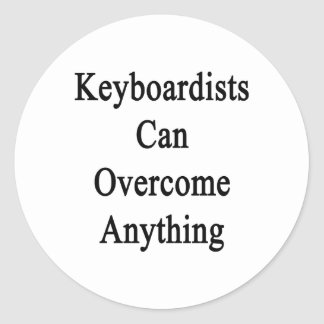 Keyboardists Can Overcome Anything. Sticker
