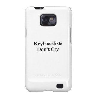Keyboardists Don't Cry Galaxy SII Case