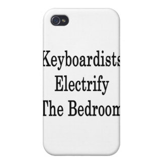 Keyboardists Electrify The Bedroom iPhone 4 Case