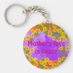 Keycahin del amor de madre llavero personalizado