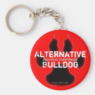 Keychain alternativa Bulldog Llaveros Personalizados