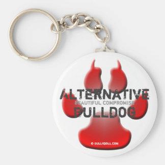 Keychain alternativa Bulldog Llavero