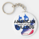 Keychain American Bulldog Schlüsselband