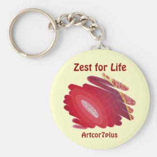Keychain - Blaze  Zest for Life