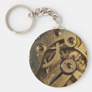 KeyChain: Brass Hearted. Watch Mechanism Keychain